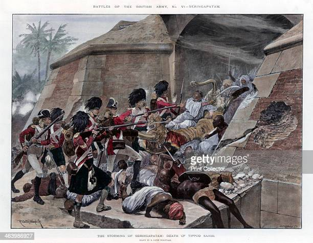 The storming of Seringapatam resulting in the death of Tippu Sultan, 1894. In the fourth Anglo-Mysore War in 1799, the Battle of Seringapatam was the...