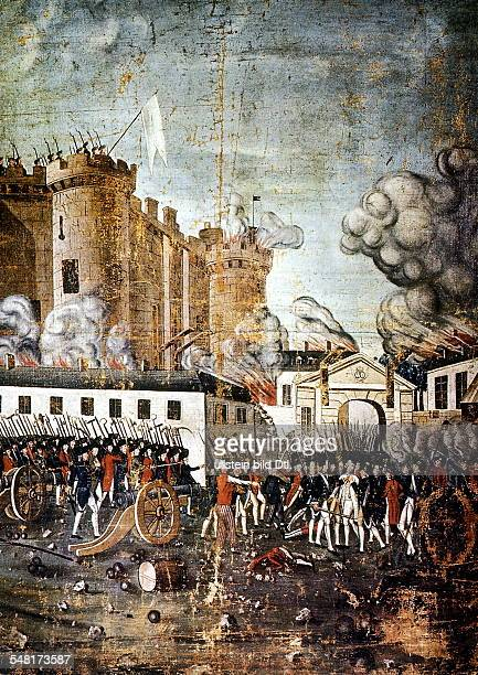The storming of the Bastille 07141789