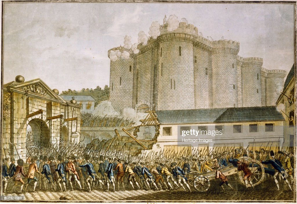 The Storming Of The Bastille 1789 : News Photo