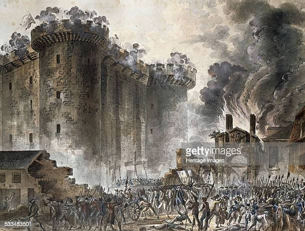 The Storming of the Bastille on 14 July 1789 c 1789 Found in the collection of Musée Carnavalet Paris