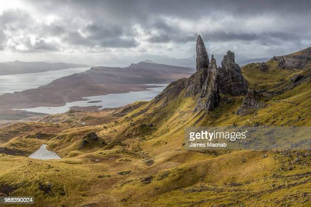 The Storr in the highlands of Scotland.