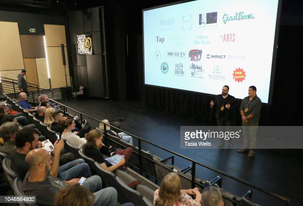 'RISE' The Story of Augustines' filmmaker Todd Howe and musician William McCarthy 2018 Santa Cruz Film Festival on October 6 2018 in Santa Cruz...