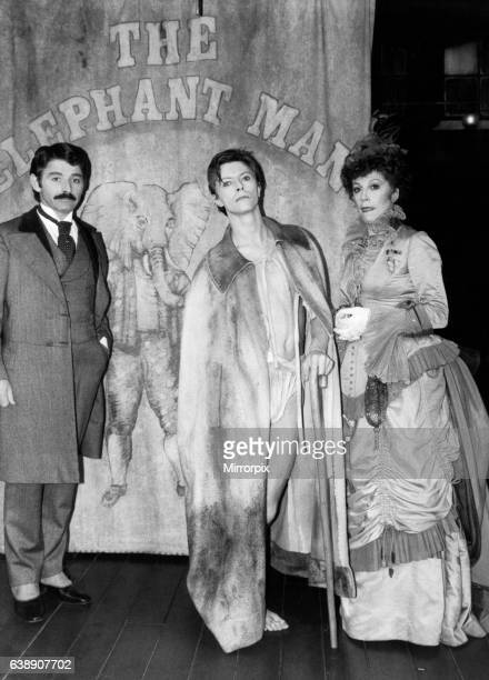The story of John Merrick played by David Bowie in the stage production of The Elephant Man Booth Theatre on Broadway New York 18th September 1980