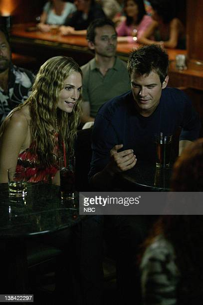 LAS VEGAS The Story of Owe Episode 3 Aired 11/10/06 Pictured Molly Sims as Delinda Deline Josh Duhamel as Danny McCoy