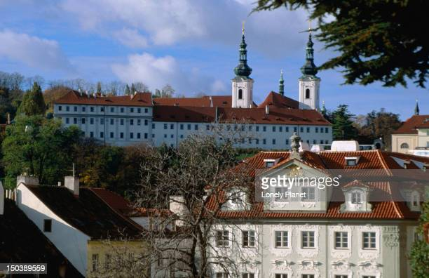 The Strahov Monastery was completed in the 17th and 18th centuries. Founded in 1140 the former communist government closed the order. Only in recent years have the  monks returned.