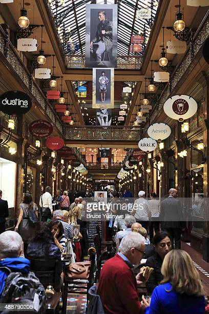 the strand arcade - new south wales stock pictures, royalty-free photos & images