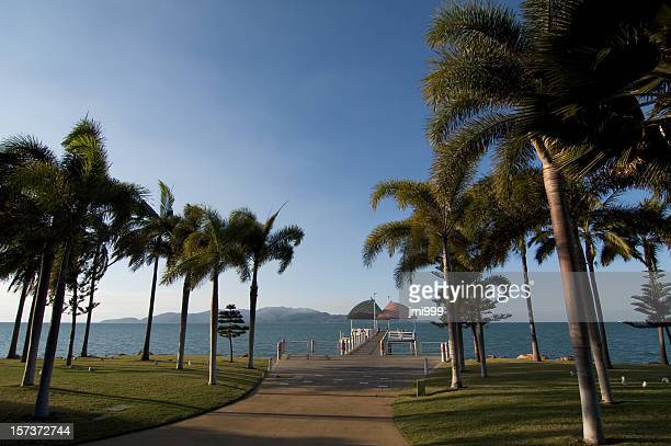 the strand - townsville queensland stock pictures, royalty-free photos & images