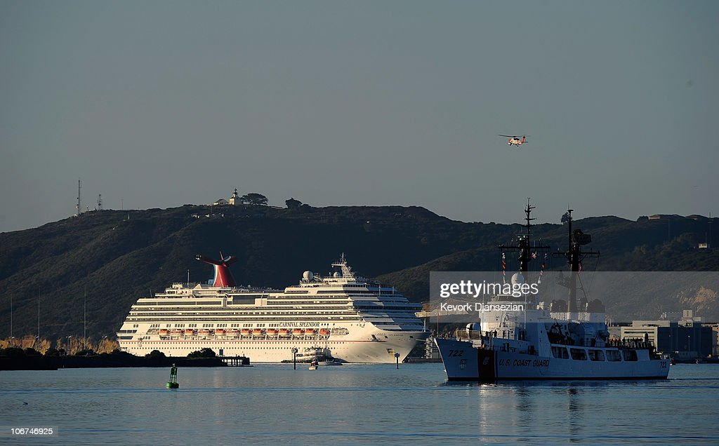 Stranded Carnival Cruise Ship Towed To San Diego Photos And Images - Stranded cruise ship