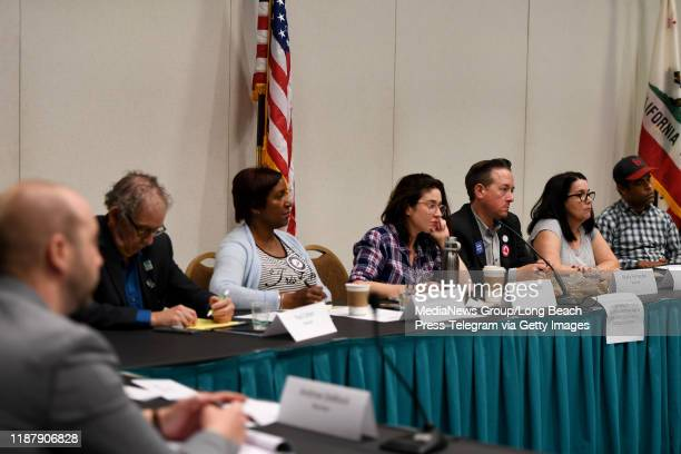 The strategic financial planning committee meets during the California Democratic Party Convention in Long Beach on Friday November 15 2019 The four...