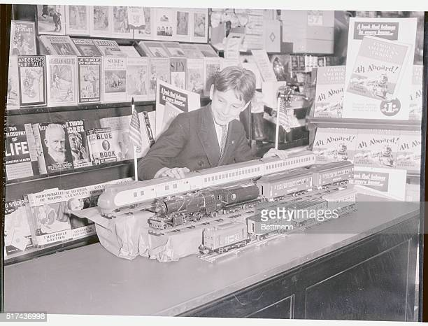 The Streamline Era in Toys New York The streamline era has even invaded the Toy Industry this young American looks over the latest in toy trains a...