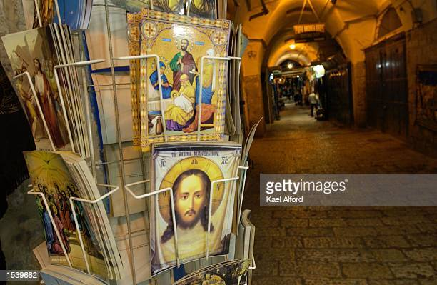 The streets lay nearly empty in the old city of Jerusalem on Holy Saturday May 4 the day before Christian Orthodox Easter During the Orthodox...