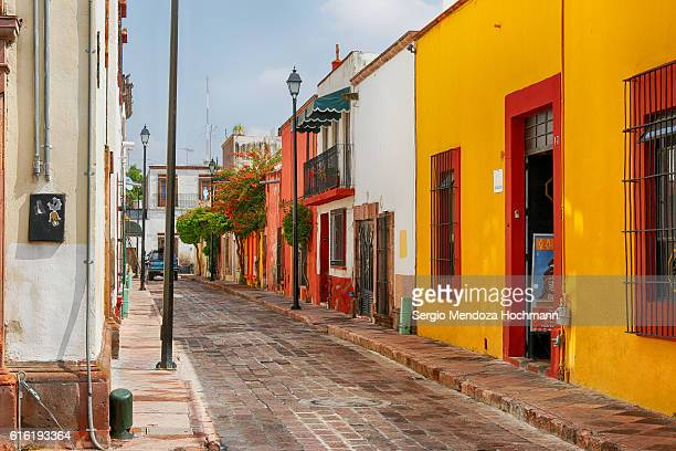 The streets of downtown Queretaro, Mexico