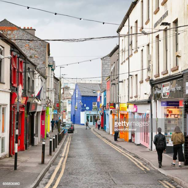 The Streets of Galway, Ireland.