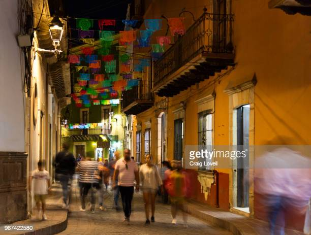 The streets of GUANAJUATO at night - MEXICO