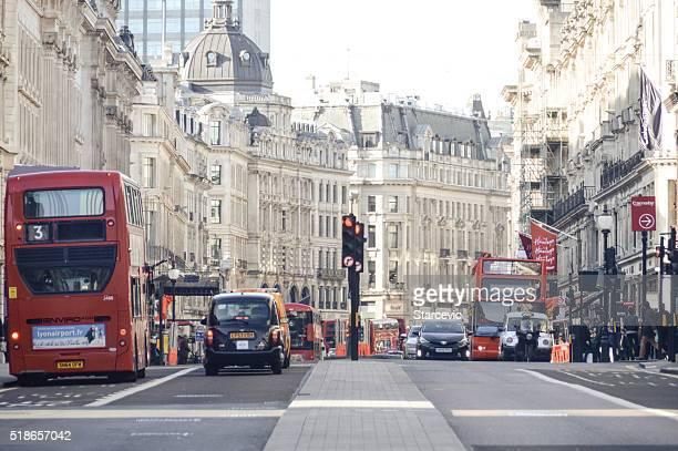 Nas ruas de Londres-Reagent Rua