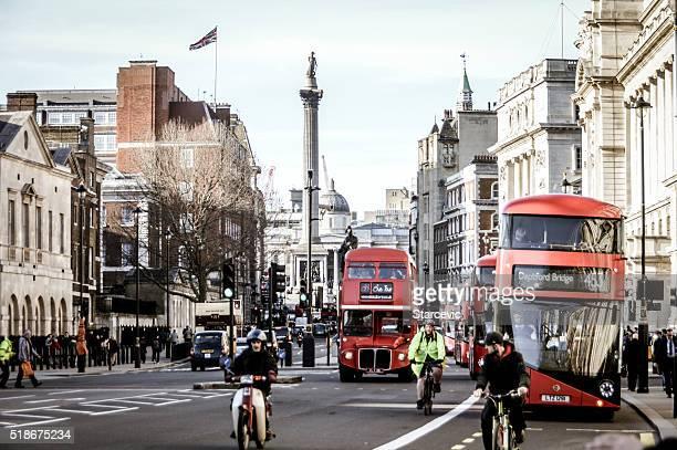 The streets of London - Trafalgar Square
