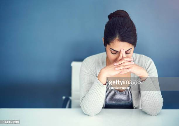 the stress is sinking in - dismissal stock photos and pictures