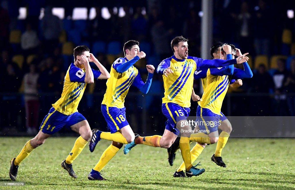 FFA Cup Rd of 32 - Brisbane Strikers v Wellington Phoenix : News Photo