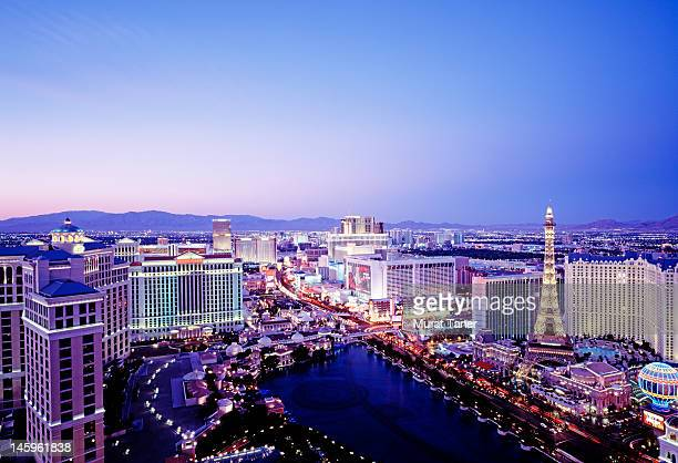 the strip, las vegas, nevada - las vegas stock pictures, royalty-free photos & images