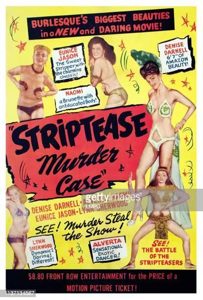 The Striptease Murder Case poster Eunice Jason Naomi Denise Darnell Alverta Lynn Sherwood 1950
