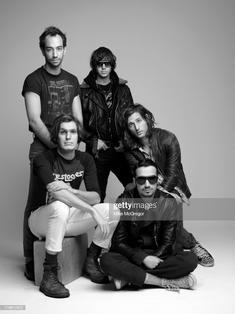 The Strokes, The Observer Magazine UK, February 27, 2011 : News Photo