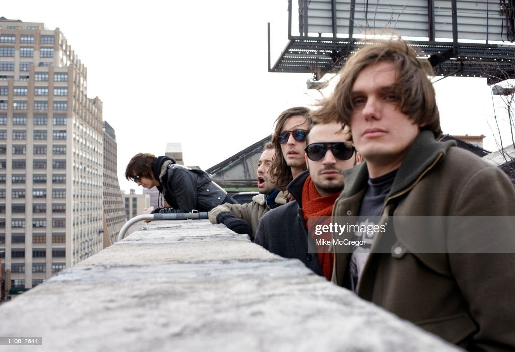 The Strokes are photographed for The Observer Magazine UK on February 9, 2011 in New York City.