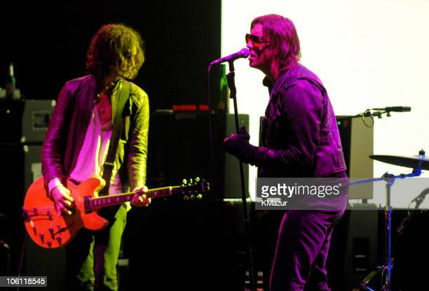 The Strokes during Hennessy Presents the Global Art of Mixing Inside October 17 2006 at Capitale in New York City New York United States