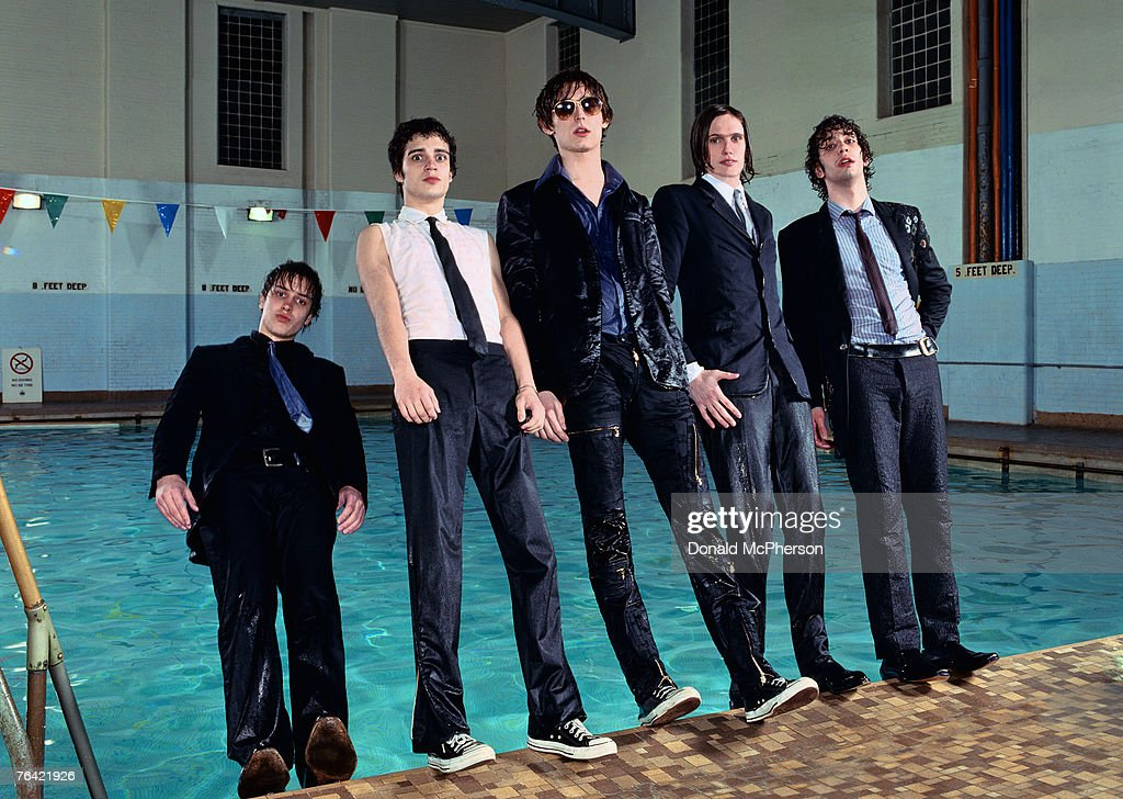 The Strokes, Self Assignment, May 1, 2002 : News Photo