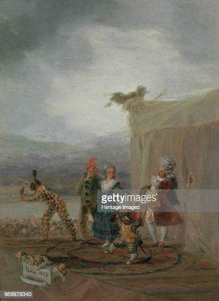 The Strolling Players 1793 Found in the Collection of Museo del Prado Madrid