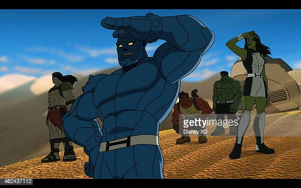 S HULK AND THE AGENTS OF SMASH 'The Strongest One There Is' ABomb starts to doubt his strength as an Agent of SMASH and must learn to use his other...