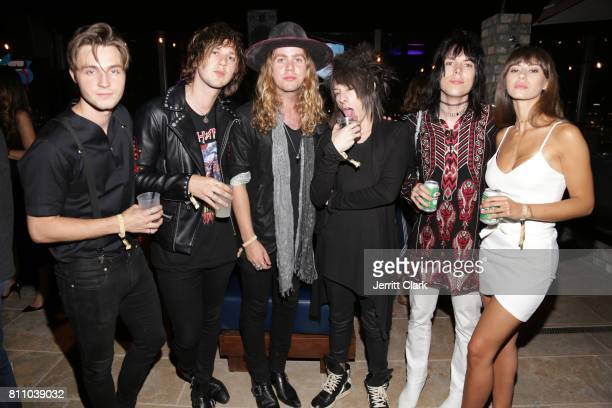 The Struts attend Scott Lipps Unvieling of His New Company Lipps At The Highlight Room At DREAM Hollywood at DREAM Hollywood on July 8 2017 in...