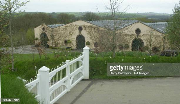 The stud farm jointly owned by Rolling Stones drummer Charlie Watts and his wife Shirley at Dolton near Great Torrington in Devon The former manager...