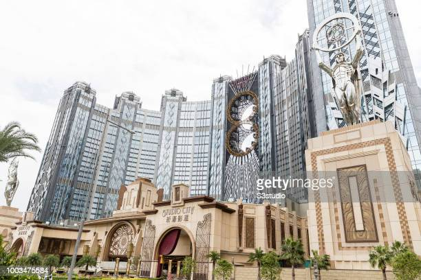 The Studio City casino resort developed by Melco Crown Entertainment Ltd stands in Macau Macau on July 18 2018 According to the date from Statistics...