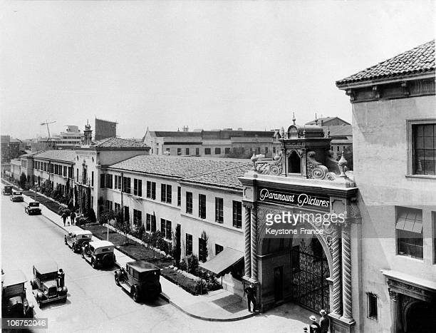 The Studios Of The Cinematographic Production Company Paramount Pictures In Hollywood In The 1930'S