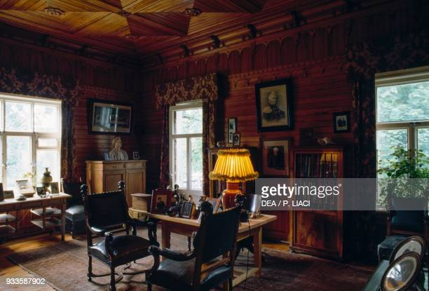 The study of Pyotr Ilyich Tchaikovsky Tchaikovsky HouseMuseum Klin Russia