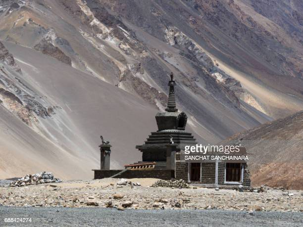 The Stupa at Pangong Lake