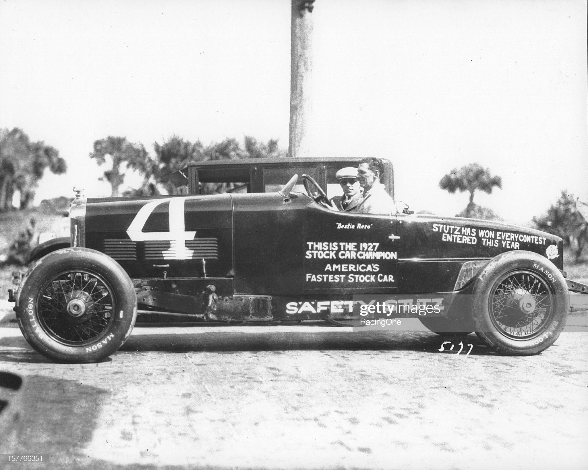 Stutz Racer - 1927 : News Photo