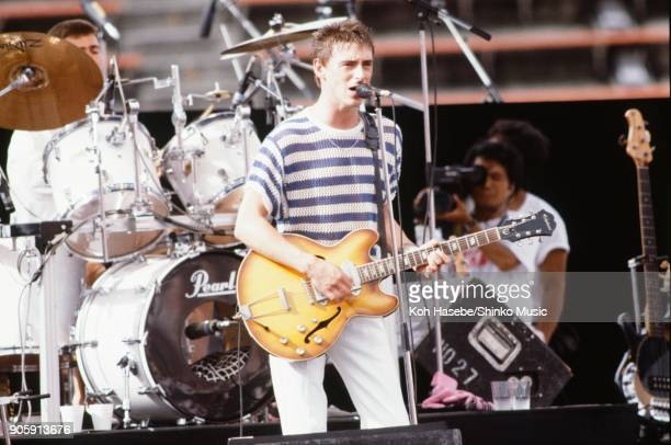 The Style Council live at Yokohama Stadium ROCK IN JAPAN'85 August 10 Yokohama Japan Paul Weller