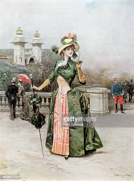 The Style of the Future A print from Figaro Exposition Simpkin Marshall Hamilton Kent and Co Limited 4 Stationers Hall Court London 1889