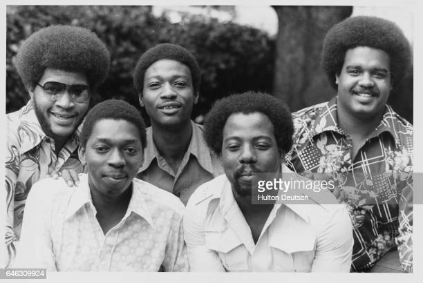 The Stylistics the chart topping American group who will be opening on Monday evening at the Cunard International Hotel 21/7/75 American pop group...