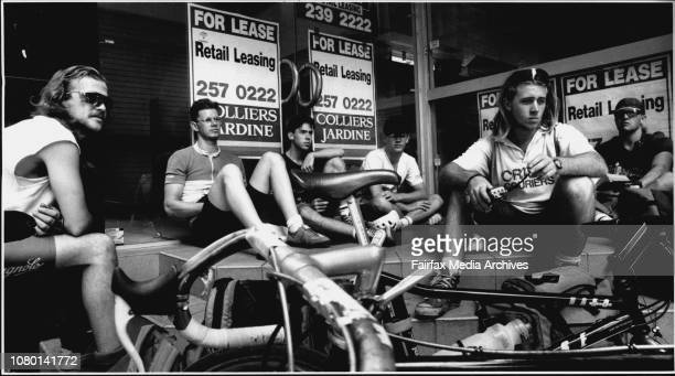 The Sub Culture of the Bicycle Couriers Geoff Sammell Mark Dalton Mark Liddle Matthew Jones Anthony Wilkstrom and Craig Burney January 14 1992
