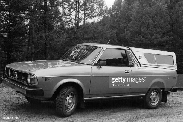 The Subaru Brat has rearfacing seats in Cargo Area Fourcylinderpowered vehicle produced 278 mileage on mountain drive Credit Denver Post