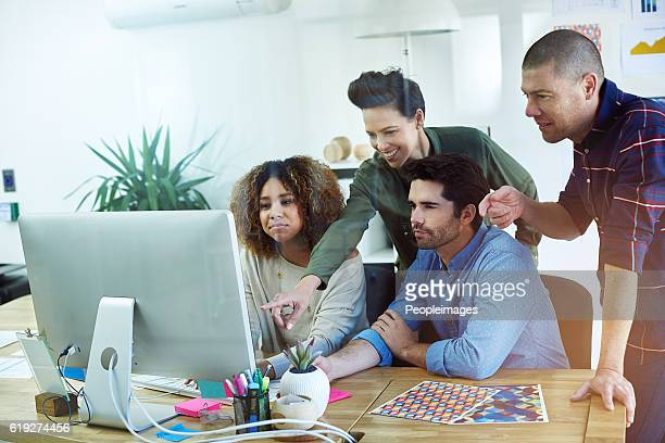 the success of a team depends on helping each other - peopleimages stock pictures, royalty-free photos & images