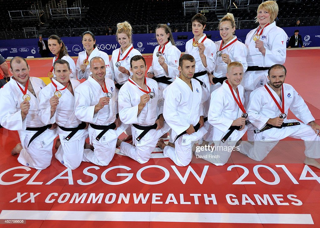 2014 20th Commonwealth Games - Day 3: Judo : News Photo