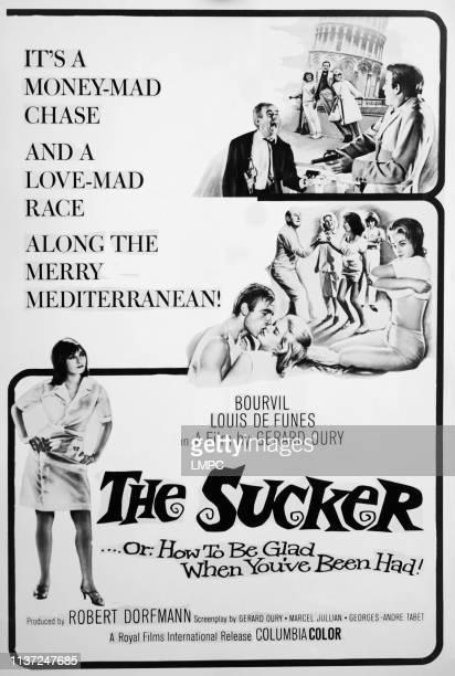 The Sucker poster poster Alida Chelli Bourvil 1965