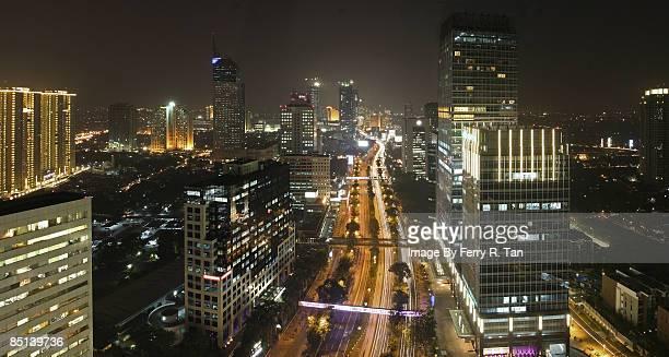 The Sudirman Ave,Jakarta, 2008
