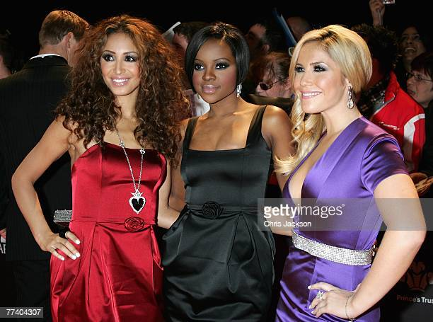 The Sugababes arrive at the Swarovski Fashion Rocks concert at the Royal Albert Hall on October 18 2007 in London England