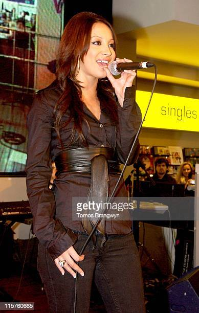The Sugababes during Sugababes InStore Performance at HMV in London March 6 2006 at HMV in London Great Britain