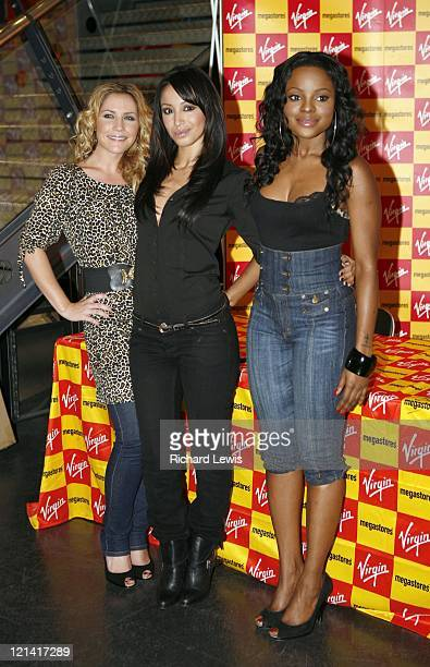 The Sugababes during Sugababes Signing and Instore Performance at Virgin Megastore in London at Virgin Megastore in London Great Britain