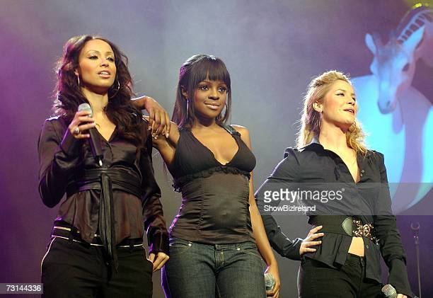 The Sugababes perform at the 2007 Childline concert at The Point theatre on January 28 2007 in Dublin Ireland